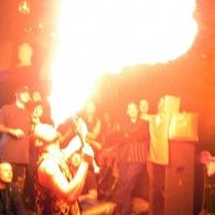 Lucky Devil Circus Sideshow @ The Zebra Room, Windsor, Ontario 2003